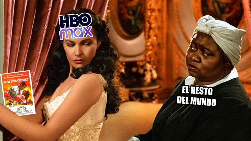 Cover HBO Max Gone With The Wind Lo que el viento se llevó
