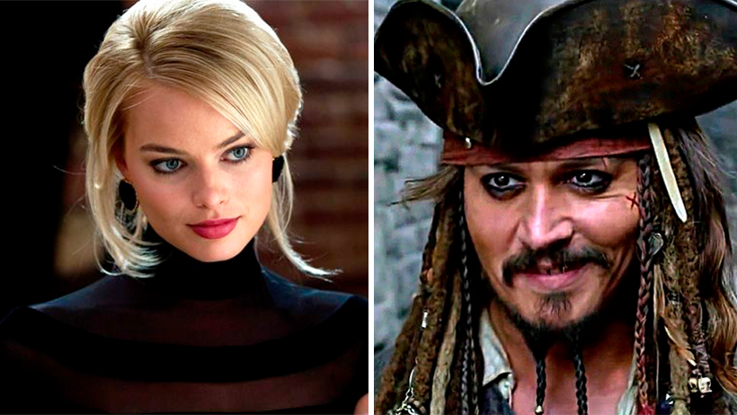 Cover Margot Robbie Piratas del Caribe