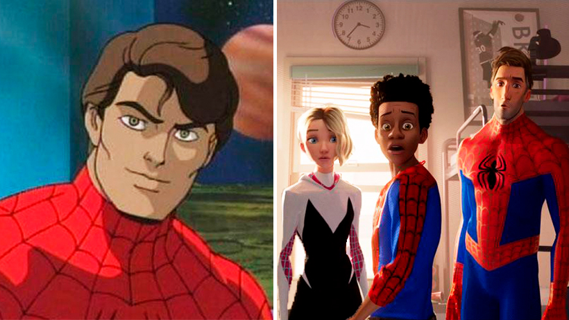 Cover Spider-Man 90s into the Spider-Verse 2