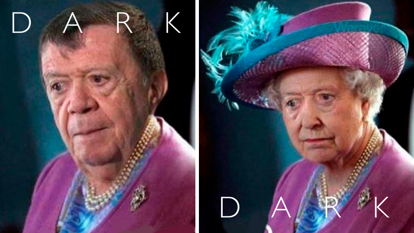 Cover Teoría Dark Chabelo Reina Isabel