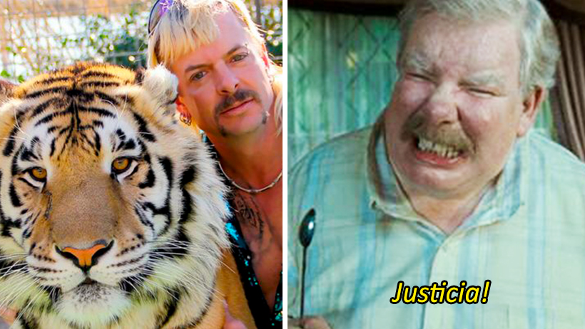 Cover Tiger King Zóologico Carol Baskin Joe Exotic