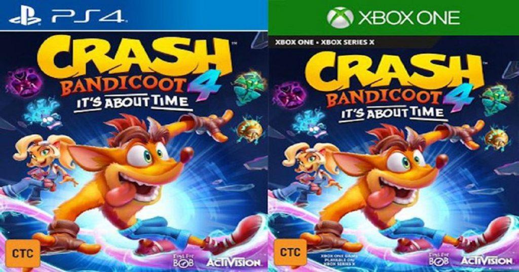 Filtraron gran parte del ahora no tan nuevo Crash Bandicoot 4: It's About Time