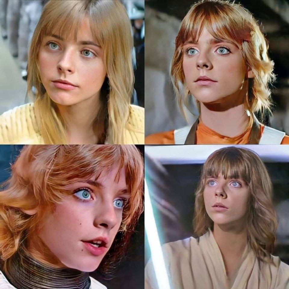 Luke Skywalker Gender Swap