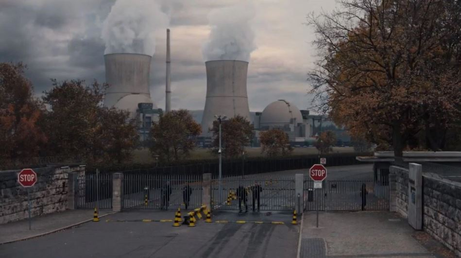 dark nuclear power plant