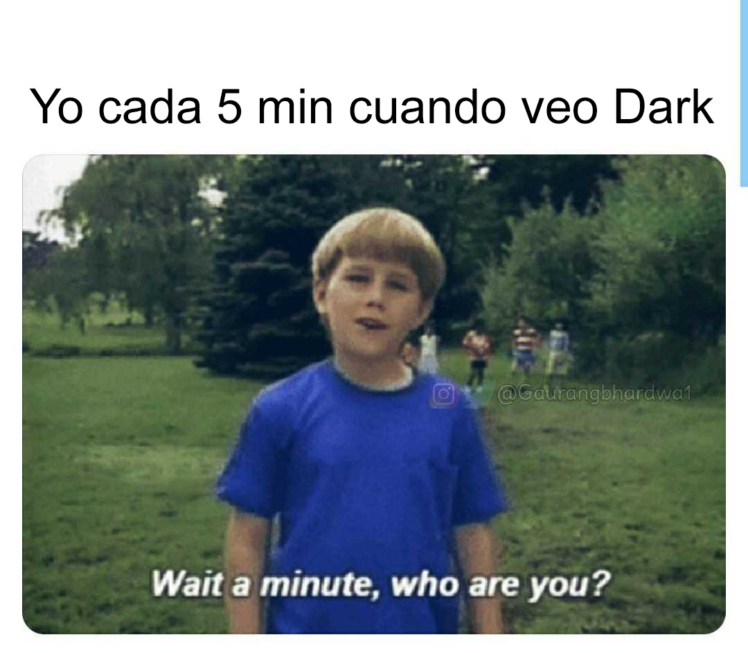 Dark personajes meme