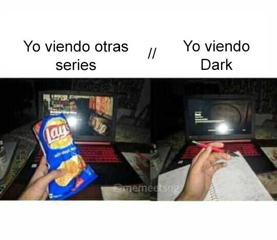 Dark series meme apuntes