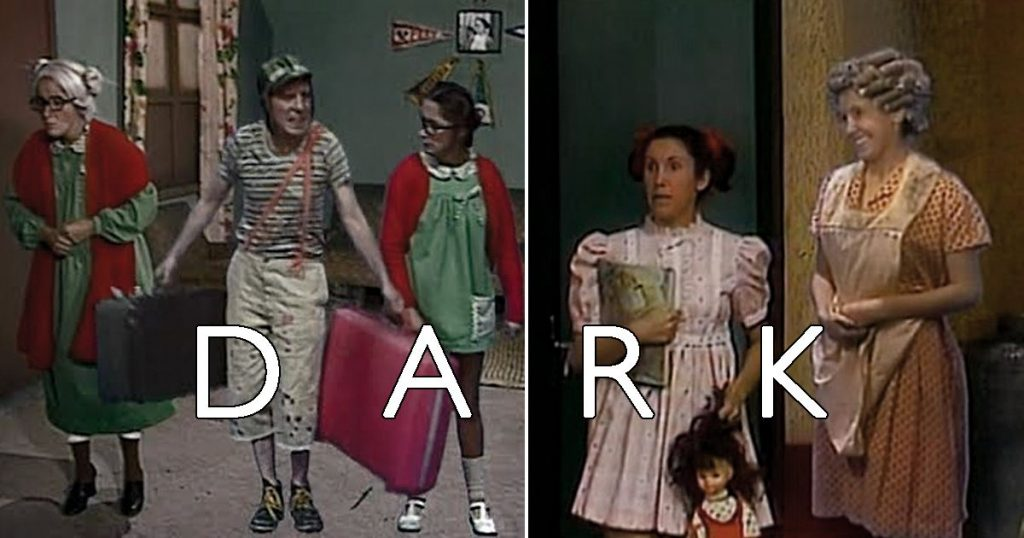 Dark personajes el chavo del ocho 8 meme