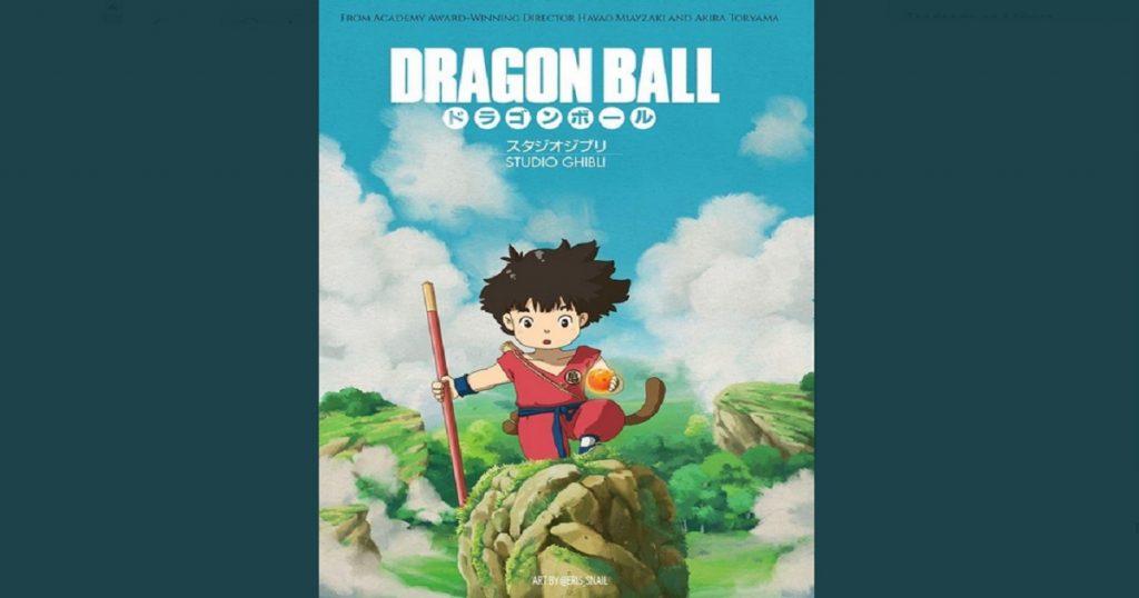 El crossover perfecto no exis… Dragon Ball al estilo Studios Ghibli enamora al Internet