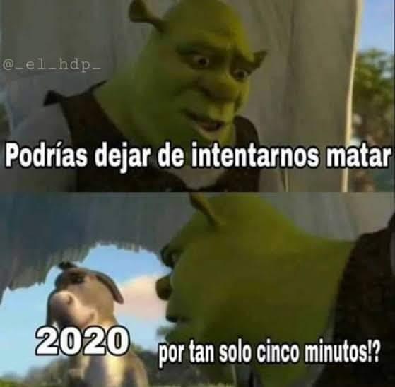 shrek 2020 meme