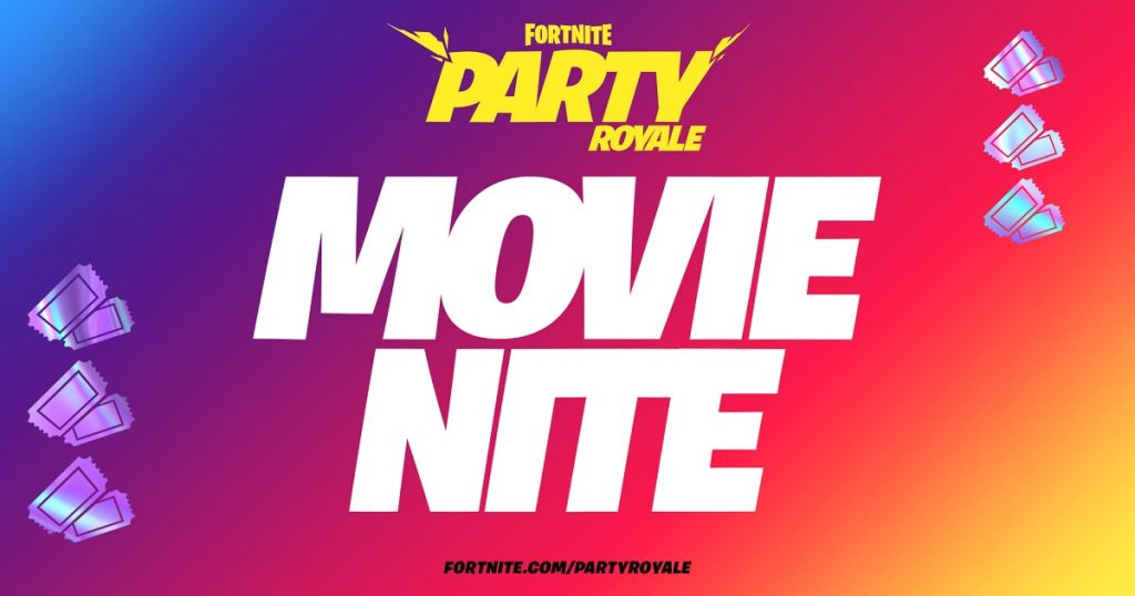 Fortnite prepara viernes de cine con película de Nolan en Party Royale Big Screen