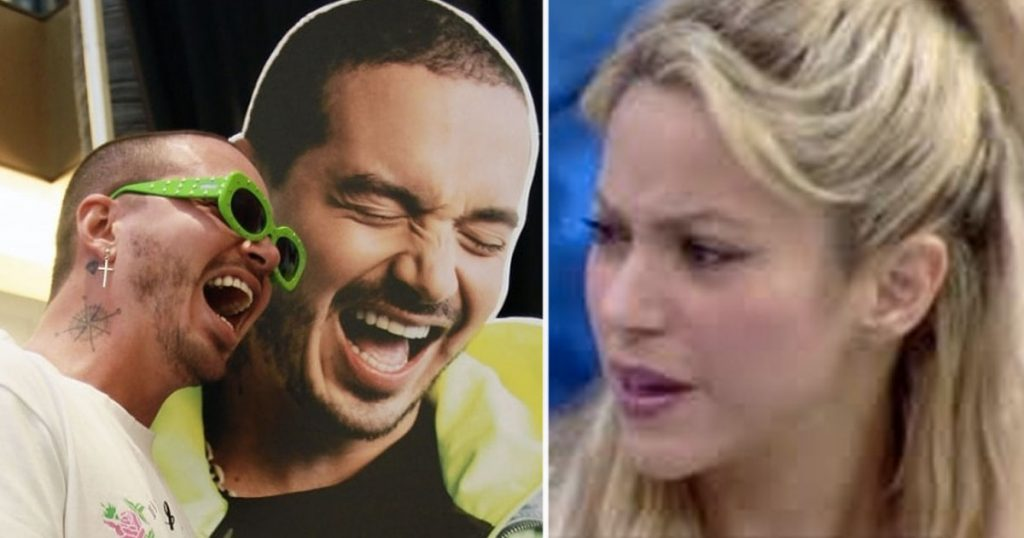 J Balvin se burló de Shakira y el Internet ya lo canceló definitivamente