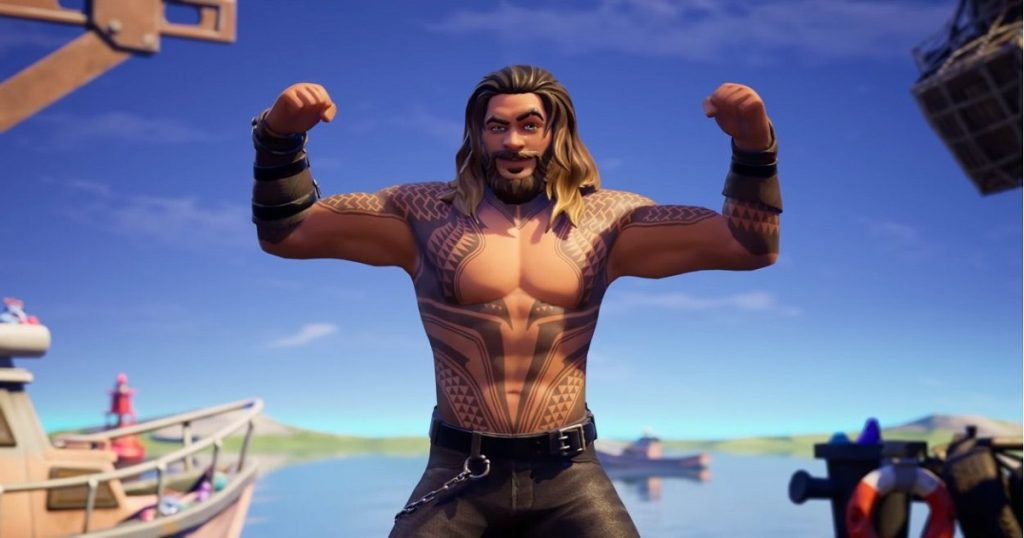 Aquaman de Jason Momoa llegan a la nueva temporada de Fortnite: Splash Down