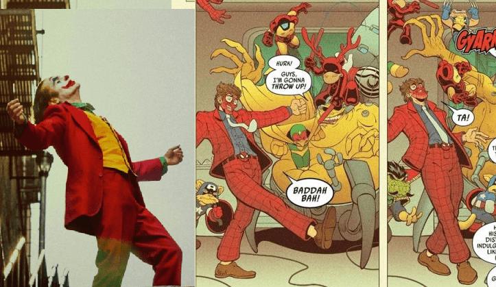 Marvel disque trolleó al Joker de DC en su nuevo comic y el internet no sabe qué pensar