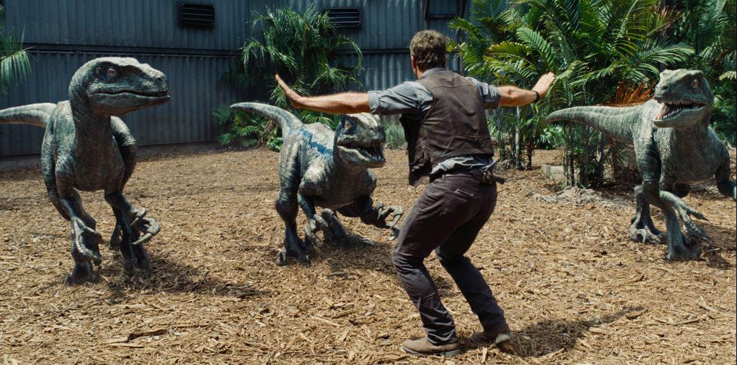 Jurassic World Owen and raptors