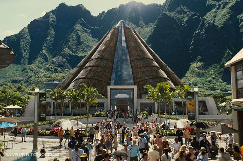 Jurassic World Park Visitors Center