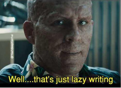Lazy Writing deadpool