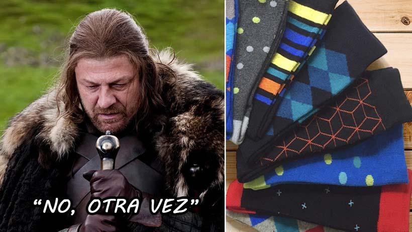 Papás se preparan para fingir sorpresa por los calcetines que les van a regalar hoy