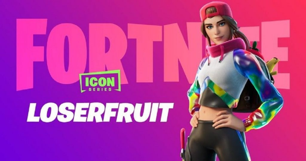 De YouTube a Fortnite: la skin de Loserfruit ya está disponible por tiempo limitado