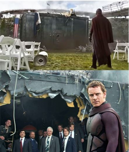 Magneto Bunker X-Men Days of Future Past