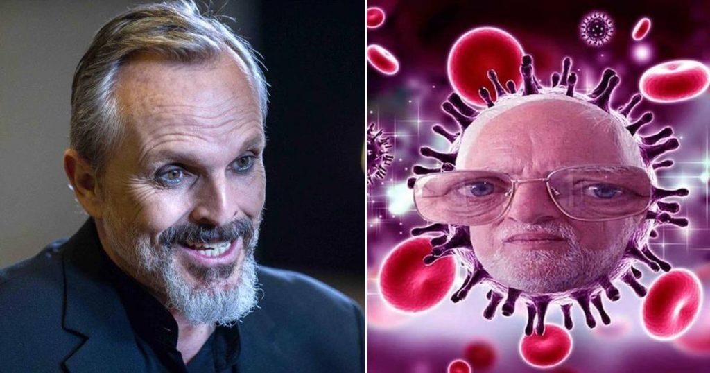 Miguel Bosé dice que coronavirus no existe
