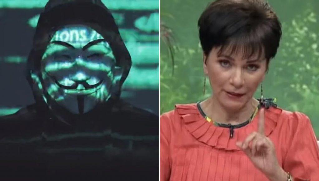 Anonymous anuncia que hoy revelará si Pati Chapoy usa peluca