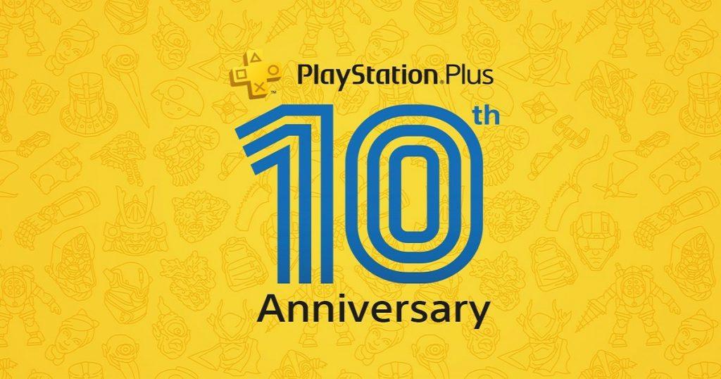 PlayStation Plus celebra 10 años con un pack de juegos gratis en julio