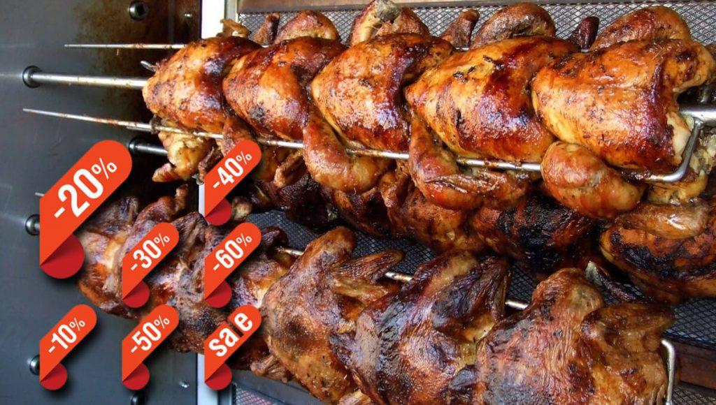 Darán descuento en pollo rostizado a mamás cansadas de cocinar