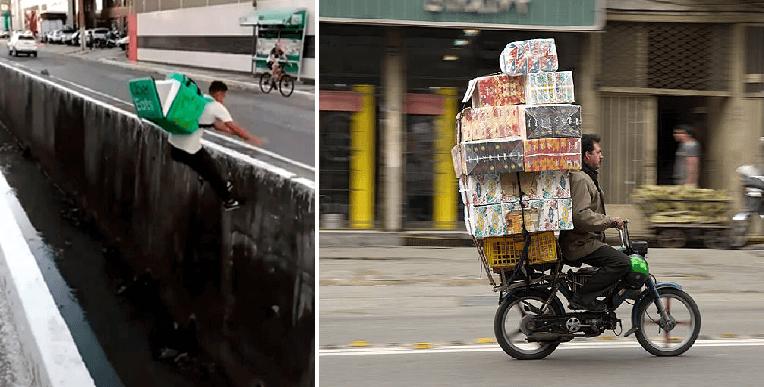 7 motivos por los que los repartidores de comida rápida dejan de trabajar en eso