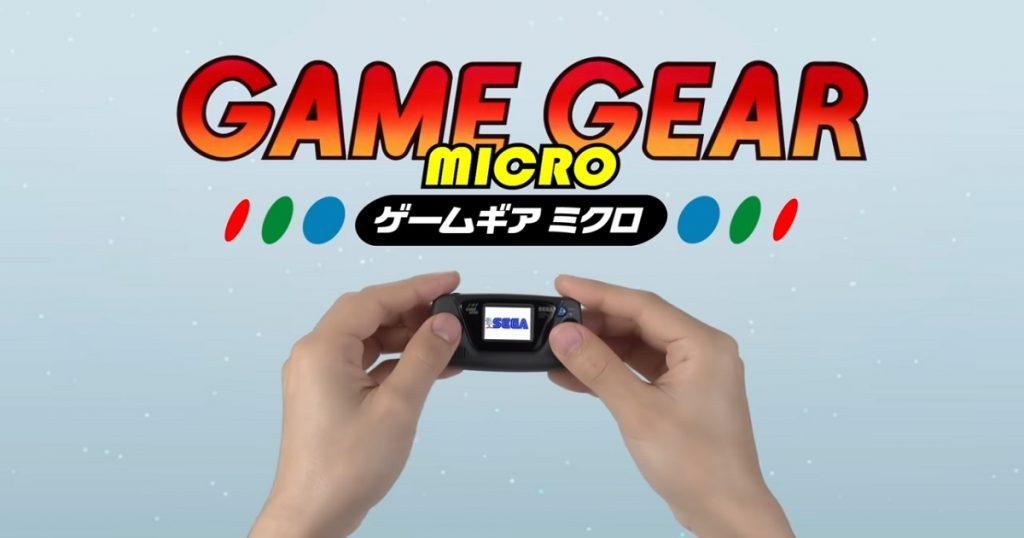 SEGA celebra 60 aniversario con nuevo Game Gear Micro: mira todos los detalles