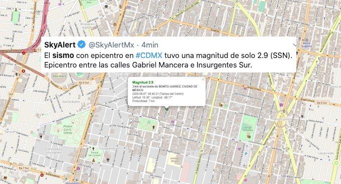 Dr. Gatell le pide al sismo respetar la sana distancia con los mexicanos
