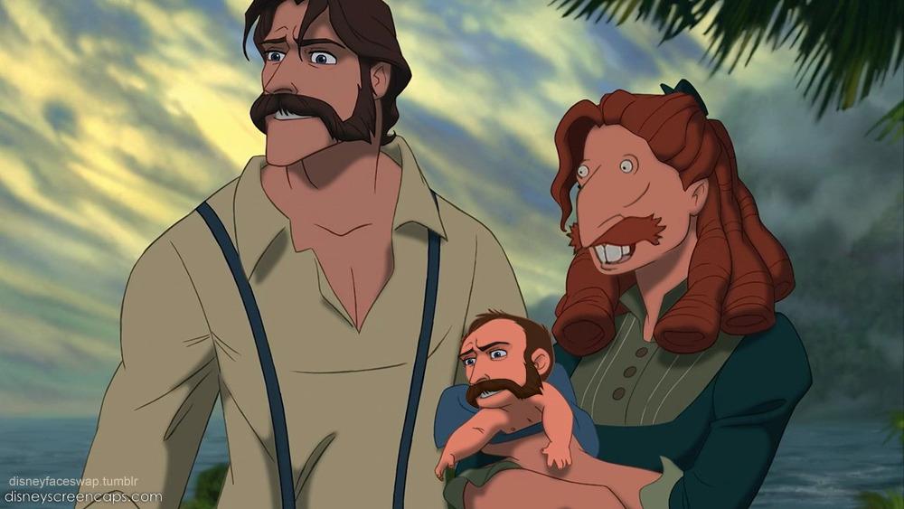 Tarzan Nigel Thornberry