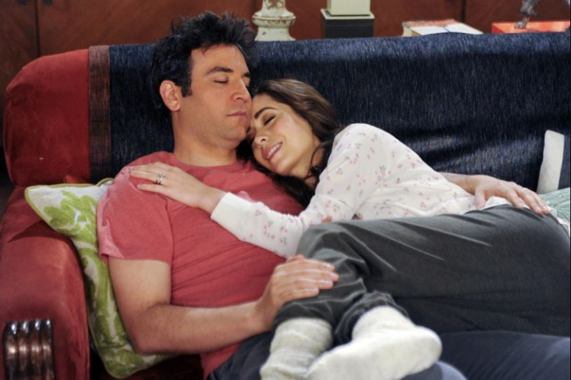 Ted and Tracy HIMYM