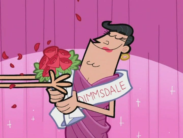 timmy's dad woman