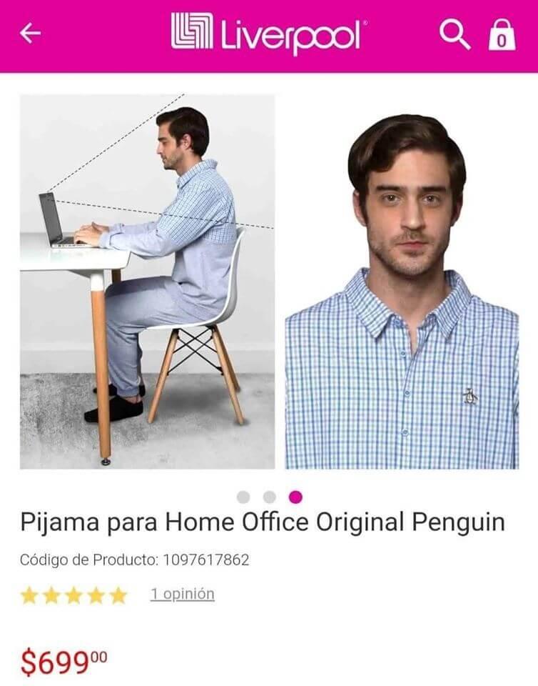 PIJAMA HOME OFFICE DEFORMA I