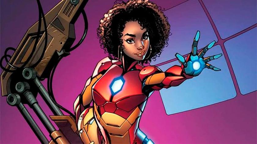 Riri Williams Iron Heart Marvel
