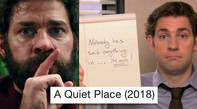 A Quiet Place Meme // Hollywood Nota