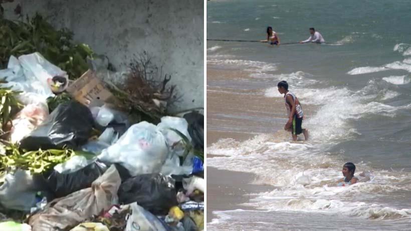 Normalidad nivel: Acapulco es nuevamente invadido por toneladas de basura