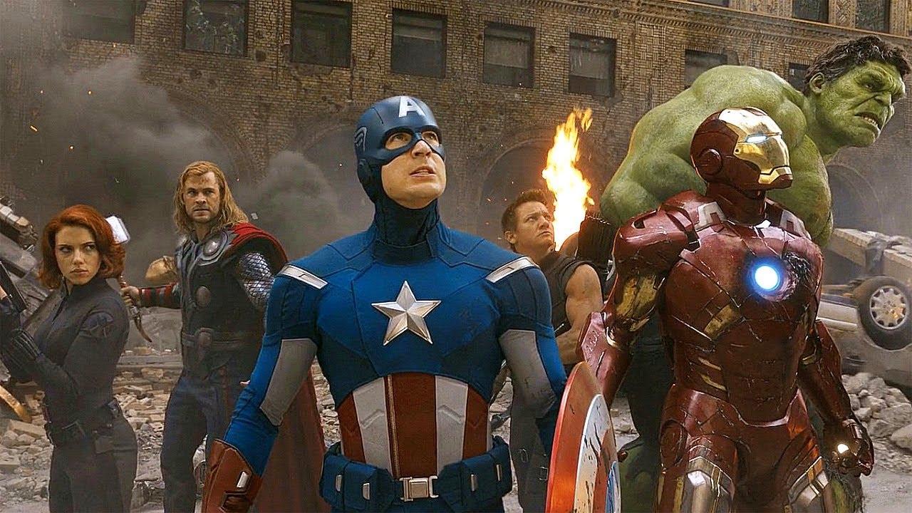 Avengers Group Shot
