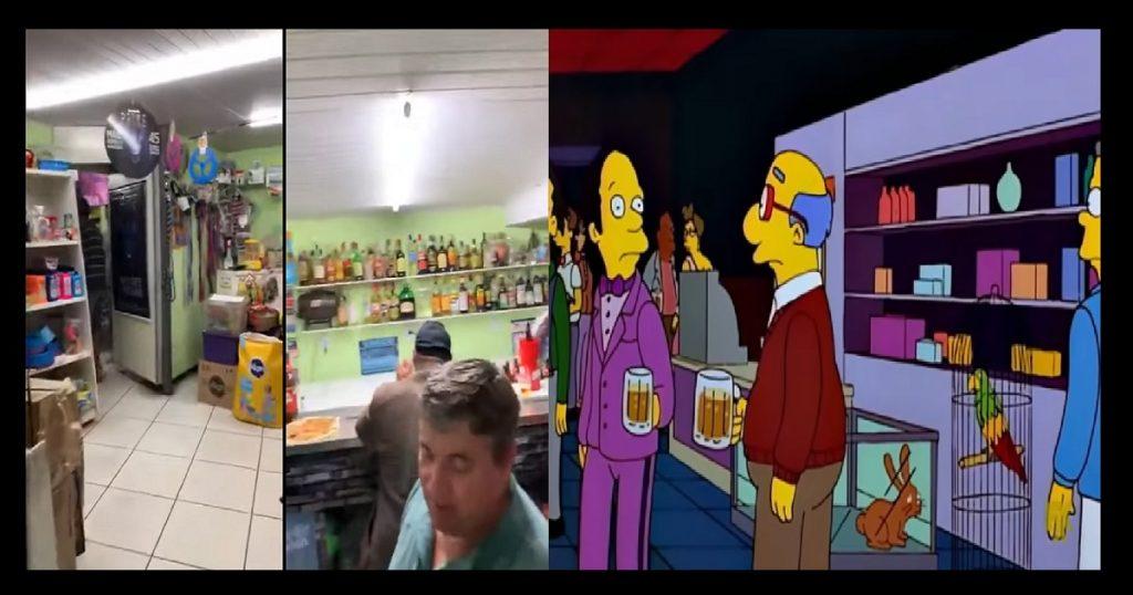 Otra predicción de Los Simpson: Bar se hacía pasar por tienda de mascotas en Brasil (VIDEO)
