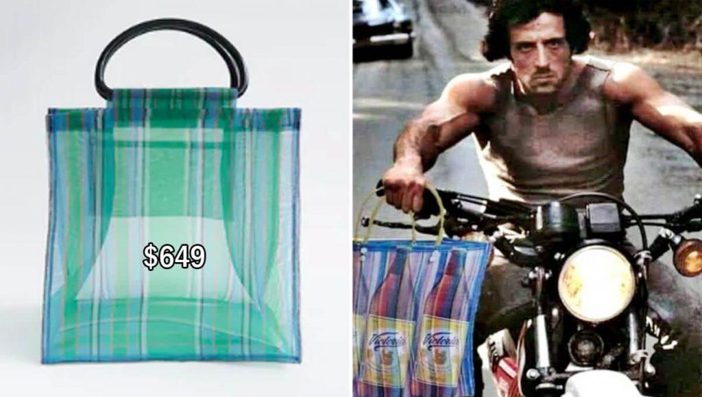 Zara lanzó su costosa bolsa del mandado y el internet la llenó de memes
