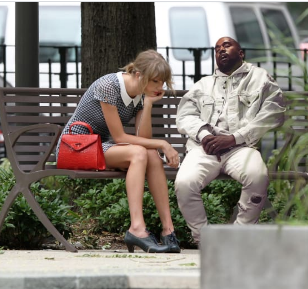 kanye west sad taylor swift meme