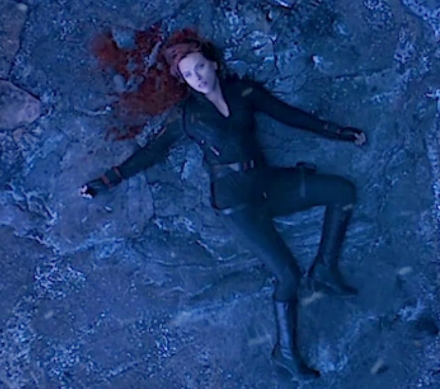 Black Widow Endgame Death