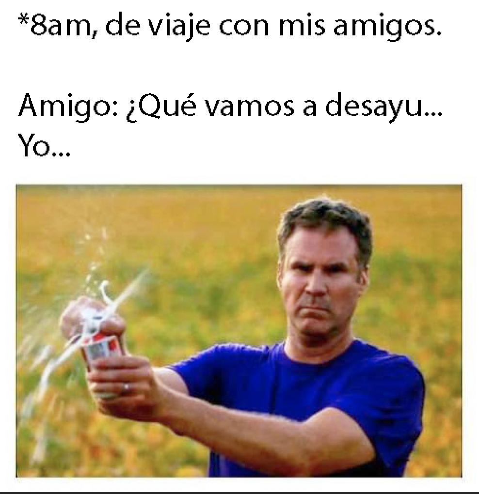 cerveza viaje meme