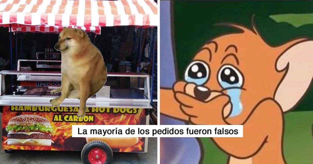 Mexicanos crean restaurante de Cheems y las bromas los obligan a cerrarlo