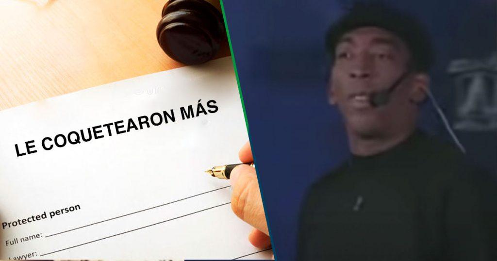 """Chichí Peralta recibe orden de restricción luego de que """"le coquetearan más"""""""