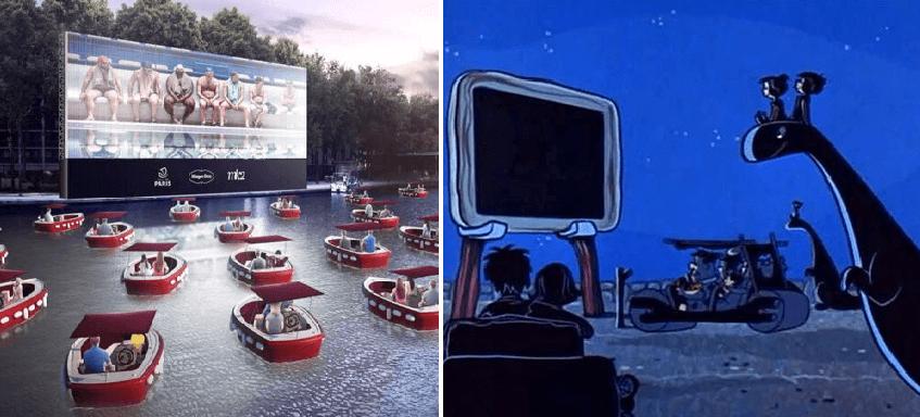 París abrirá barco-cinema flotante en el río Sena para respetar la sana distancia