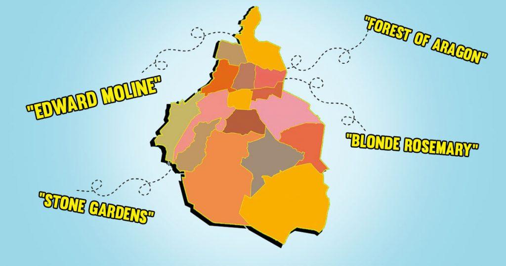 20 nombres de colonias mexicanas en inglés para que te sientas como en el primer mundo