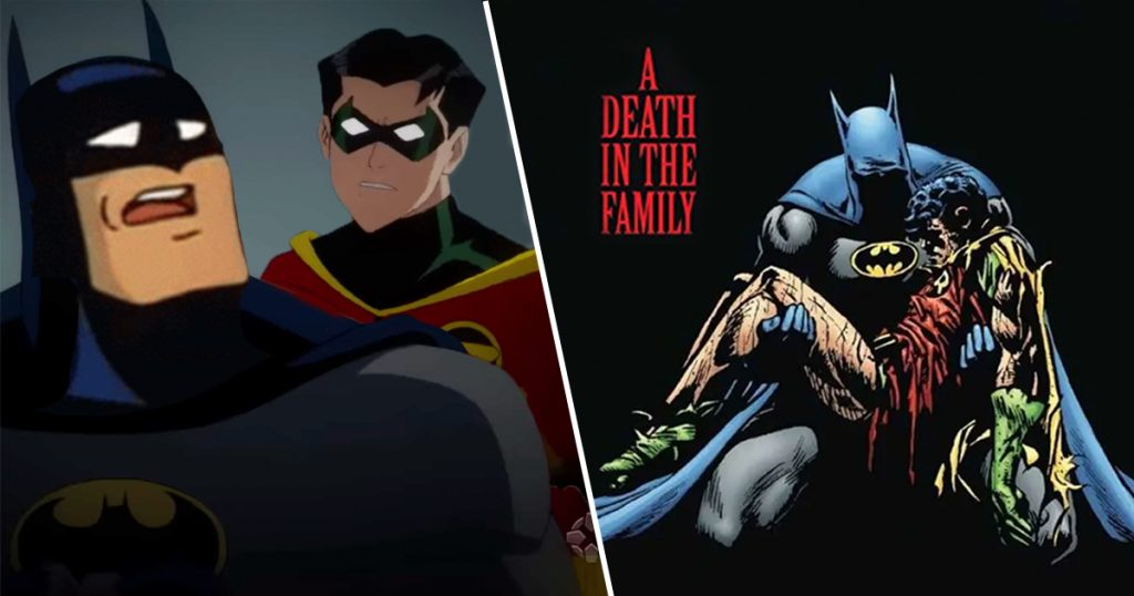 Cover Batman Death in the Family Robin DC