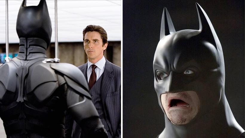 Cover Christian Bale es un mal Batman