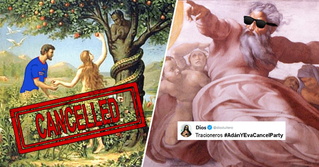 Cover Dios Adán y Eva Cancelados
